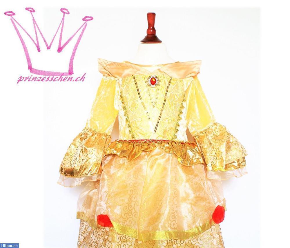 Prinzessin Belle Kleid, Kostüm, Verkleiden, Fasnacht ...