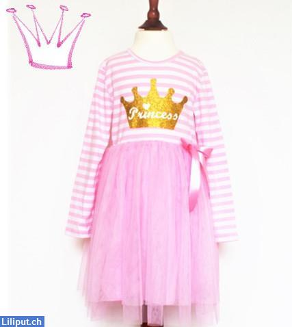 Bild 1: Prinzessin Kinder-Kleid mit Tutu, Rock, Princess in 92/98, 104/110, 116/122