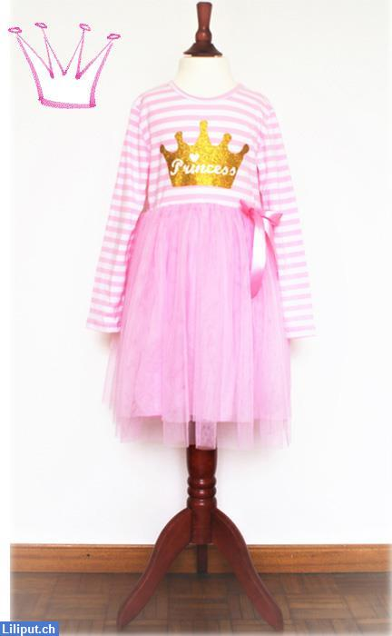 Bild 2: Prinzessin Kinder-Kleid mit Tutu, Rock, Princess in 92/98, 104/110, 116/122