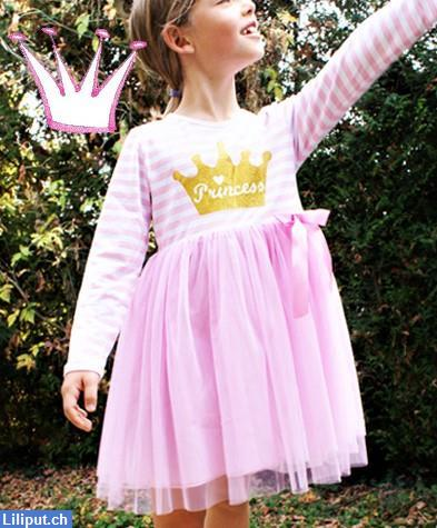 Bild 3: Prinzessin Kinder-Kleid mit Tutu, Rock, Princess in 92/98, 104/110, 116/122